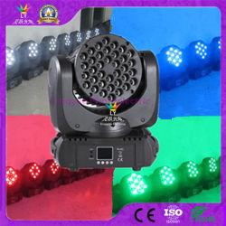 36X3w RGB Mini LEIDEN van de Straal van het Stadium van DJ Bewegend Hoofd