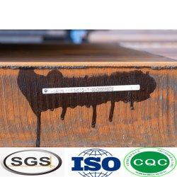 P355NH UN SMA588490bw materiales de la hoja de acero resistente al desgaste