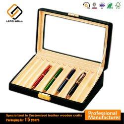Cuero de PU de alta calidad caja de regalo de la pluma para oficina