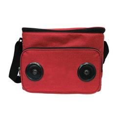 Для использования вне помещений поездки полиэстер водонепроницаемая охладитель для пикника сумка с Bluetooth динамик