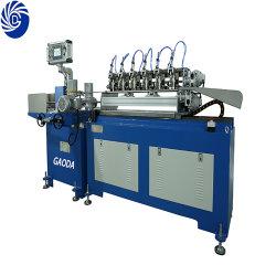 기계를 만드는 자동적인 파란 색칠 종이 밀짚