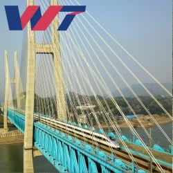 هيكل فولاذي عالي الجودة H وهيكل فولاذي لجسر الخدمة الشاقة