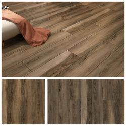 중국 공급자 침실 럭셔리 비닐 클릭 플랭크 방수 미끄럼 방지 PVC Spc Stone Wood 플라스틱 바닥 타일