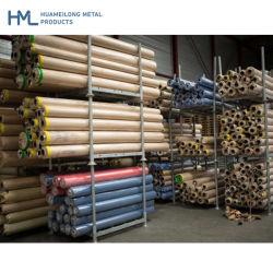 Cremagliera galvanizzata di immagazzinamento in il tubo d'acciaio del TUFFO caldo di alta qualità di Hml