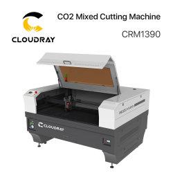 Découpe laser CO2 Cloudray ou la gravure de la machine de coupe pour contreplaqué MDF/cuir/Logo/bois d'impression de l'acrylique
