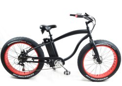 48V750W Fat pneu vélo électrique hommes Beach Cruiser avec alliage aluminium style Harley