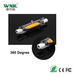 R7s G4 G9 기본적인 LED 가벼운 J78 의 50W 할로겐 보충, 500 루멘 AC220V 에너지 절약 램프