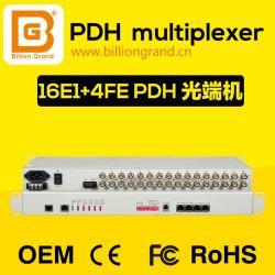 16E1+4*10/100m convertisseur PDH PDH multiplexeur