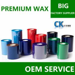 A CK18 Self-Adhesive Rótulos Ribbon Cera Premium como DNP 4085 e a ITW B220