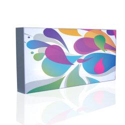 Tecido Picture Frame interior personalizado caixa de luz LED Display Publicidade