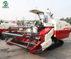 Сельскохозяйственная техника 102HP Paddy Rice World зерноуборочный комбайн