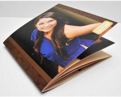 Format A4 Photo Magazine Photo Print peut être personnalisé avec une bonne qualité