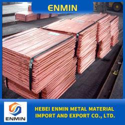 Fábrica china de alta calidad de suministro de cátodos de cobre electrolítico 99.99
