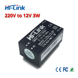 220V do Módulo de fonte de alimentação de entrada Universal Hi-Link Pm12 12V 3W