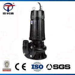 Pompa elettrica sommersa per liquame centrifugo a vuoto a aspirazione verticale industriale