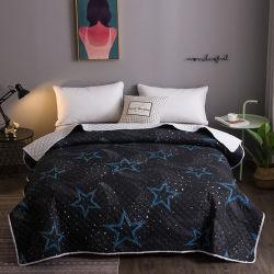 Impresos personalizados de microfibra de ultrasonidos Single Doble cama King Size Colcha turco