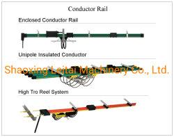 Beiliegendes Leiter-Schienen-Unipole Isolierleiter nahtloses hohes Tro Bandspule-System
