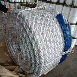 3/8/12 strand polipropileno PP/PE Danline Nylon hilo trenzado de cuerda de poliéster poliamida mixtos para el amarre de la pesca y el Marine