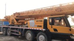 رافعة شاحنة متنقلة طراز Qy70K بقدرة 70 طنًا
