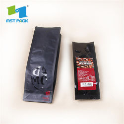 Sacchetti di caffè laterali istanti del rinforzo dei sacchetti di stampa di Digitahi