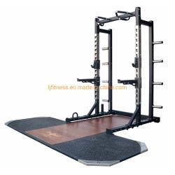 Home/comercial en el gimnasio de Fitness Deportes de equipo de entrenamiento sentadilla ajustable Power Rack máquina de ejercicios de levantamiento de pesas