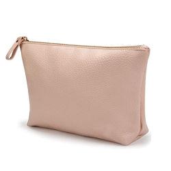 Grande sacchetto di trucco del cuoio del Vegan per sacchetto cosmetico del sacchetto di trucco di corsa della borsa il mini per le ragazze delle donne
