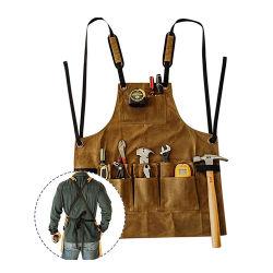 Impermeable reforzado bolsas personalizadas de los trabajos de construcción de la herramienta de Oxford el delantal