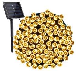 Las luces de Navidad las luces de la cadena de Energía Solar 100/200/300/500/1000 Fairy 8 modos de luces LED de iluminación de Patio al Aire Libre Jardín de césped de la boda de inicio