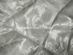 Peça de vestuário de tecido Jacquard de poliéster e saco de tecido de forro de tecido