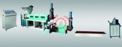 Los residuos PP PE bolsa de plástico Film Granulator reciclaje máquina de reciclaje de doble tornillo