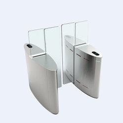 Premium trappe coulissante en acier inoxydable de qualité barrière de porte