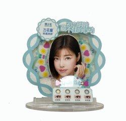 Acrylcountertop-Bildschirmanzeige für Wimper-Kontaktlinse-Knall-Bildschirmanzeige-Kostenzähler-Handelsbildschirmgerät