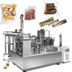 Питание достойной ответной мерой на заводе Чехол Bag уплотнение вращающегося вакуумных упаковочных машин