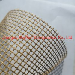 Tejido de fibra de vidrio recubiertas de PTFE con refuerzo perimetral de malla abierta