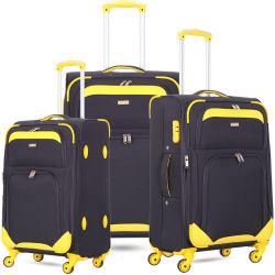 Bagagli del filatore di corsa del carrello di modo con il sacchetto molle di nylon espansibile dei bagagli di EVA