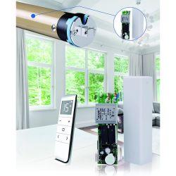 멀티 채널 스마트 홈 디스플레이 스크린 전동식 커튼 블라인드 롤러 롤링 셔터 리모컨