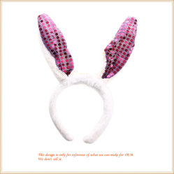 ترويجيّة هبة قطيفة أرنب أذن [سقوين] عصابة