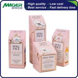 Qualitäts-Geschenk-Bildschirmanzeige-kosmetischer Schablonen-Haut-Sorgfalt-verpackender Papierkasten