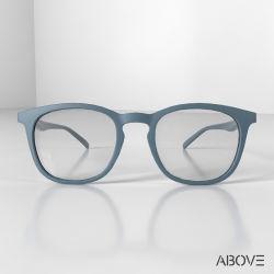 Praça de fábrica da Mola Tr90 Unissexo óculos de dobradiça de vidros ópticos