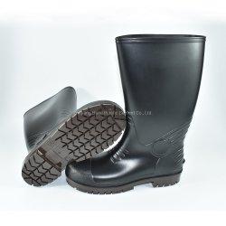 Lluvia de seguridad botas con puntera de acero y suela de acero