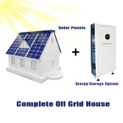 110V 220V Tesla Powerwall 48V mit Solar-Wechselrichter Solar Lithium Ion Akku Home Backup Power All in One Home Energiespeicher 10kWh Solargenerator