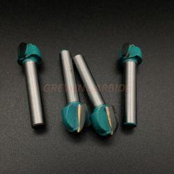 ギガワットの炭化物-カッターのフライス盤のための彫版ビット小さな溝のツールの製粉カッター