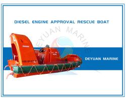 Marine utiliza botes de rescate rápidos con motor Diesel para la vida de la seguridad