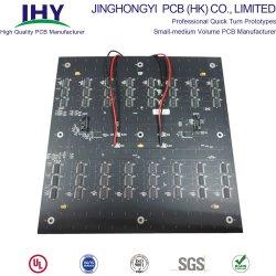중판 두 배는 벌거벗은 구리 입히는 합판 제품 PCB 회로판 포일 PCB Fr4 편들었다