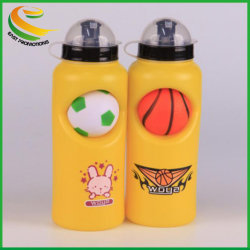Hot Sale World Cup Food Grade Kids Sports Plastic Drink Water Bottle With Pu Football