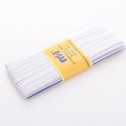 100 % latex Tresse élastique cordon plat blanc 9 mm