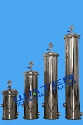 مبيت فلتر خرطوشة الفولاذ المقاوم للصدأ SS304 40 20 5*10 بوصة لعلاج الماء