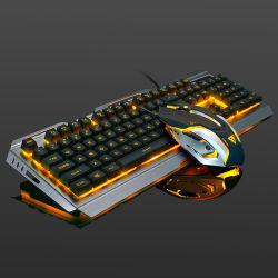 人間工学に基づいた USB ケーブル接続、バックライト、機械的な感触、ゲーム用キーボードとマウス 設定