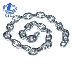 Qili soudé en métal galvanisé chaînes à maillons courts pour le levage