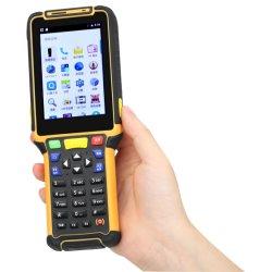 Collettore di dati tenuto in mano portatile di P8 WiFi PDA con lo scanner del codice a barre Hf/Lf e 1d 2D del lettore di RFID